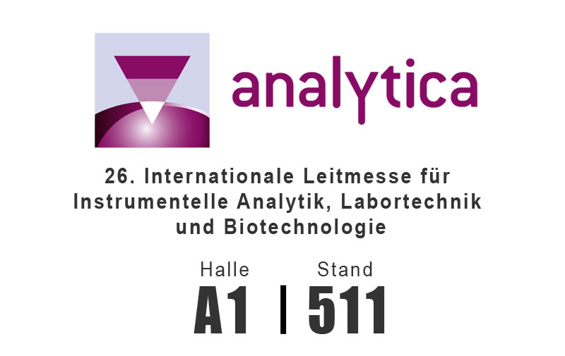 Analytica 2018 - 10. - 13. April in München