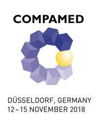 COMPAMED 2018 - 12. - 15. November in Düsseldorf